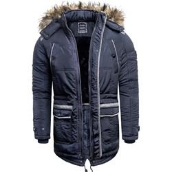 f4e715d723931 Niebieskie kurtki męskie zimowe sklepmartes.pl, zima 2019 w Domodi