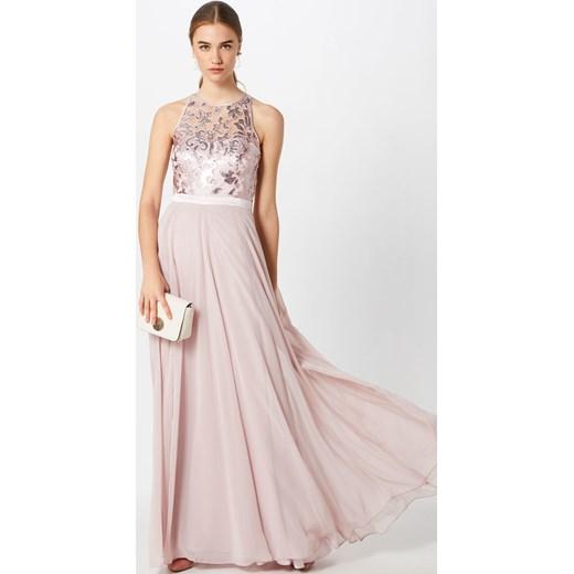 b41679655929 ... Sukienka Vm Vera Mont maxi elegancka na bal z okrągłym dekoltem na karnawał  bez rękawów ...