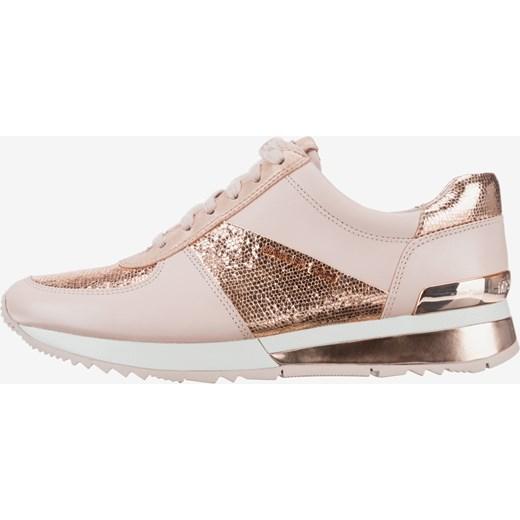 f7114e4c1c227 Buty sportowe damskie Michael Kors młodzieżowe wiązane na koturnie w ...
