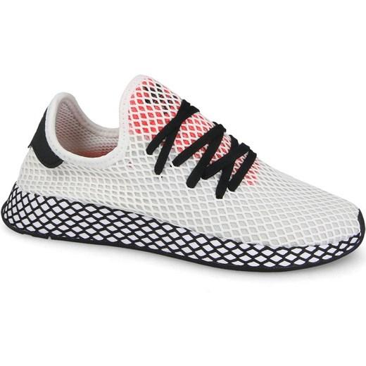 best website be871 87713 Buty sportowe męskie Adidas Originals z gumy białe ...