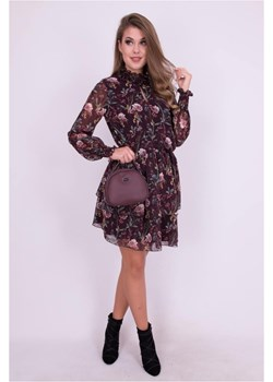 Zwiewna sukienka z falbanami 2429 2429, Rozmiar: 40  Wibs okazyjna cena   - kod rabatowy