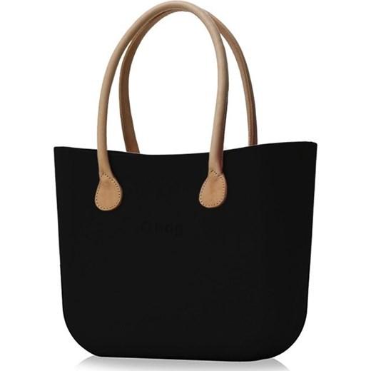 b297041a32c73 Shopper bag O Bag do ręki bez dodatków matowa w Domodi