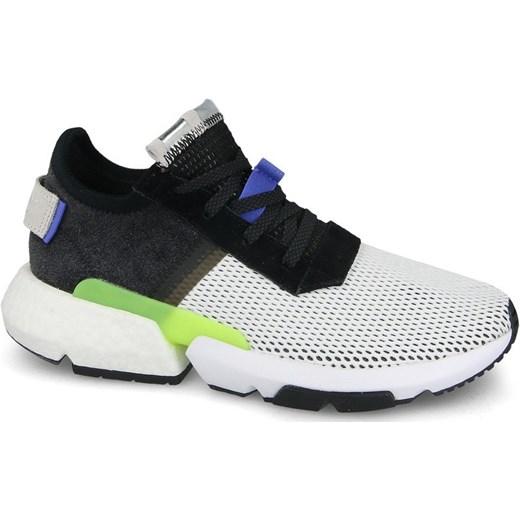 5cbf7f1fa4451 Buty sportowe męskie Adidas Originals equipment sznurowane ze skóry ...