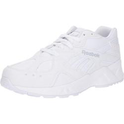 752260e92abbd Buty sportowe damskie Reebok Classic do biegania młodzieżowe skórzane na  platformie bez wzorów