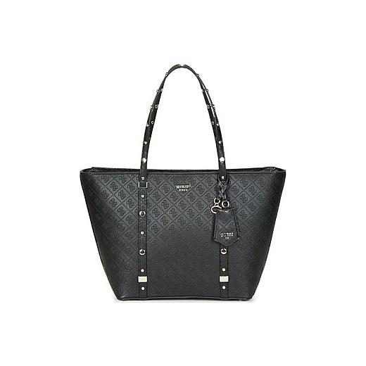 a2cefeb014fd6 Shopper bag Guess bez dodatków czarna casual w Domodi