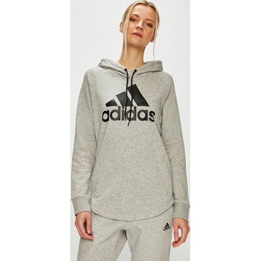 6f3b523b8fc449 Bluza damska Adidas Performance krótka w Domodi