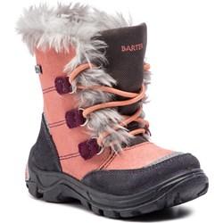 b16bbd14 Buty zimowe dziecięce Bartek sznurowane z tworzywa sztucznego śniegowce ...