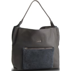 1623d999cc93f Shopper bag Lasocki matowa bez dodatków ...