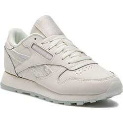 184e20179a0a0 Białe buty sportowe damskie Reebok do fitnessu na płaskiej podeszwie  sznurowane