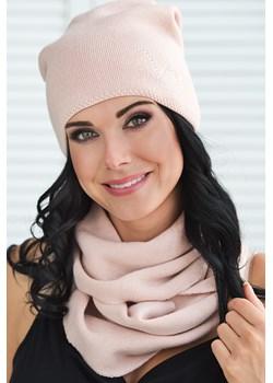Damska czapka Sondero różowy Voxx  Astratex - kod rabatowy