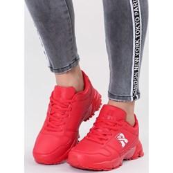 ae4791518dde1 Renee buty sportowe damskie ze skóry ekologicznej płaskie bez wzorów1  sznurowane