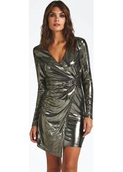 Sukienka Z Metalicznym Połyskiem  Guess  - kod rabatowy