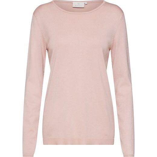 e835e71826947d Różowy sweter damski Kaffe z okrągłym dekoltem w Domodi