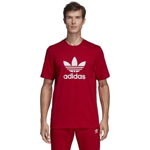 najlepszy wybór Najlepsze miejsce autentyczny Koszulka sportowa czerwona Adidas Originals z napisem