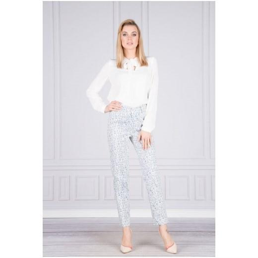 346f4694 Szare spodnie damskie Ficcarelli