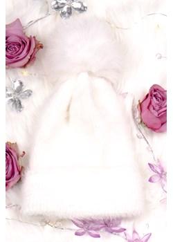 Czapka Kate biała  Produkt Importowany Stardust Butik  - kod rabatowy