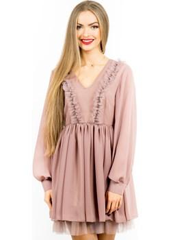 Sukienka Rose Purpura  Stardust Butik  - kod rabatowy