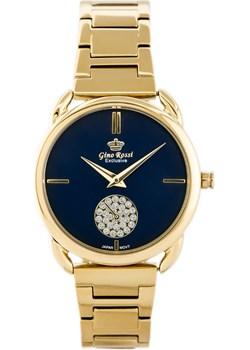 Zegarek GINO ROSSI E11148B-6D2 EXCLUSIVE (zg781d) - Złoty Gino Rossi  TAYMA - kod rabatowy