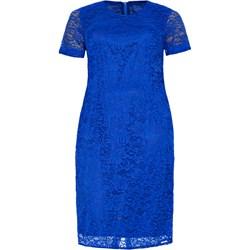 3a2b3b1ceb Modne Duże Rozmiary. Sukienka z krótkim rękawem midi