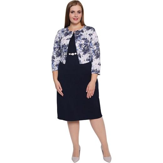 850f1b4f930 Sukienka z elastanu dla puszystych w Domodi