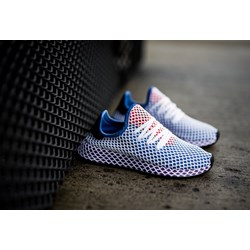 new concept a3faf 591db Adidas Originals buty sportowe damskie do biegania niebieskie bez wzorów na  płaskiej podeszwie