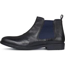 9551fb5091fc5 Geox buty zimowe męskie brązowe jesienne