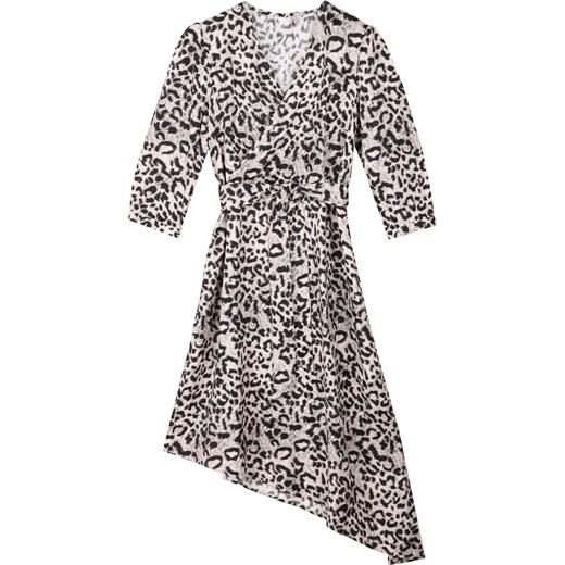 2701dd31bad462 Sukienka Top Secret w zwierzęcy wzór w Domodi