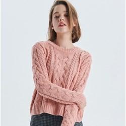 f9d86152ad13 Sweter damski Cropp z okrągłym dekoltem