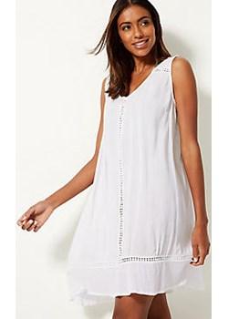 Cotton Rich Crinkle Swing dress Marks & Spencer  Marks&Spencer - kod rabatowy