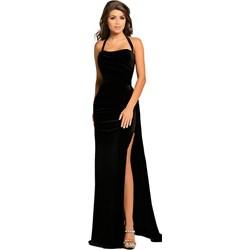 a47b69d063 Sukienka Elegrina elegancka prosta na bal