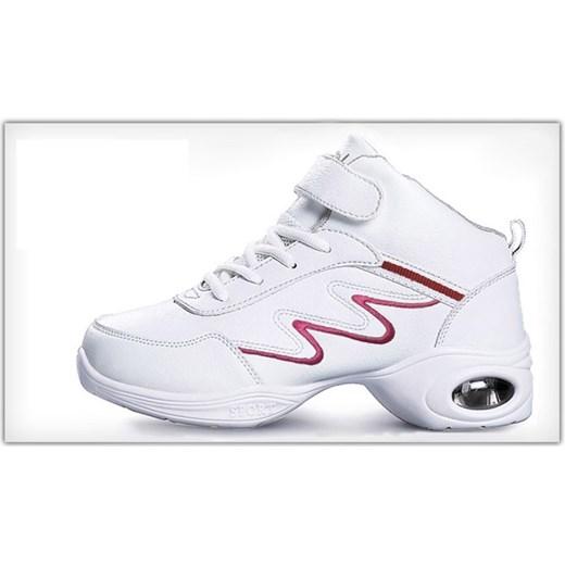 766c1d9b6af7b ... Yaze buty sportowe damskie do tańca bez wzorów na obcasie sznurowane ...
