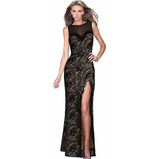 80806031e6 Sukienka Yaze balowe na studniówkę maxi w Domodi