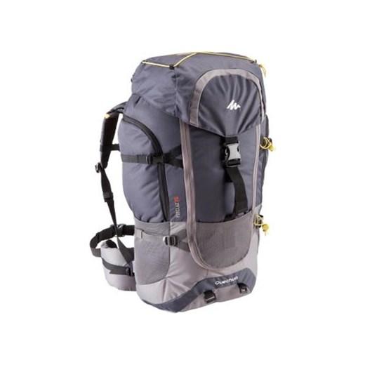 3244da94f31de Plecak turystyczny Forclaz 70 Quechua szary Decathlon w Domodi