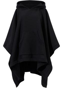 BAD GIRL czarna - bawełniana peleryna z kapturem  Risk Made In Warsaw  - kod rabatowy