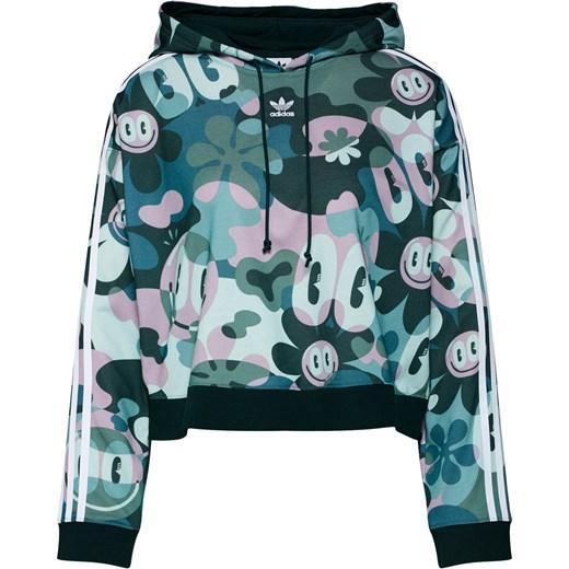 Bluza damska Adidas Originals dresowa wielokolorowa krótka