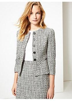 Textured Blazer Marks & Spencer  Marks&Spencer - kod rabatowy