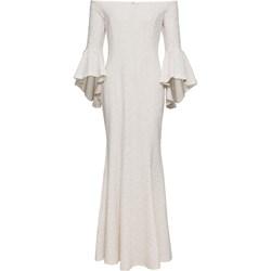 7482adaae7 Sukienka Bonprix Bodyflirt Boutique biała z długim rękawem