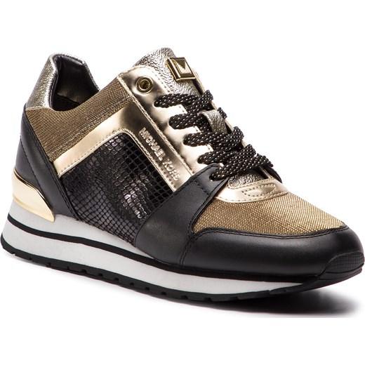 c1a63c118672b Sneakersy damskie Michael Kors na wiosnę młodzieżowe na koturnie w  zwierzęcy wzór