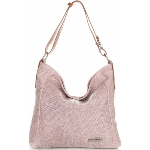 3162aa6ea5dca Shopper bag Vittoria Gotti ze skóry w Domodi