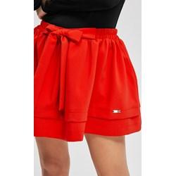 5102de05 Diverse spódnica czerwona bez wzorów