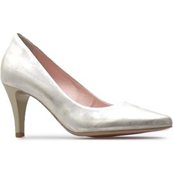 fb2780b868dba Srebrne buty damskie arturo-obuwie szpilki