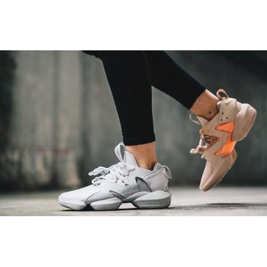 Sneakersy damskie Reebok Classic szare młodzieżowe ze skóry