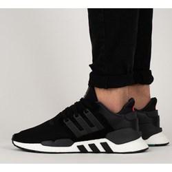 competitive price 94830 8015e Buty sportowe męskie Adidas Originals equipment skórzane czarne wiązane