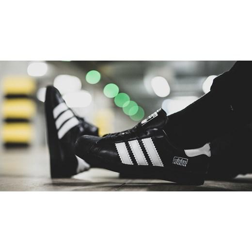 Buty sportowe damskie Adidas Originals skórzane czarne