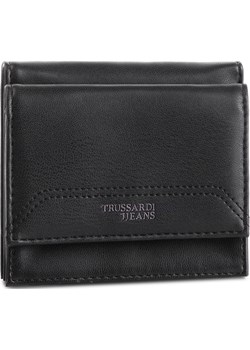 Mały Portfel Damski TRUSSARDI JEANS - Business Affair Coin Card Pocket 71W00053 K299  Trussardi Jeans eobuwie.pl - kod rabatowy