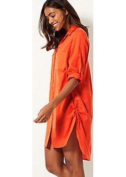 Pure Cotton Long Sleeve Beach Dress  Marks & Spencer Marks&Spencer - kod rabatowy