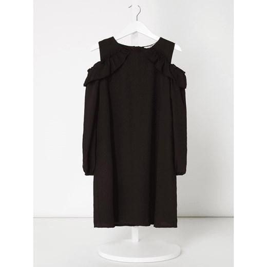 091fc6381e Sukienka w wycięciem na ramionach z krepy Review For Teens 140 Peek amp  Cloppenburg