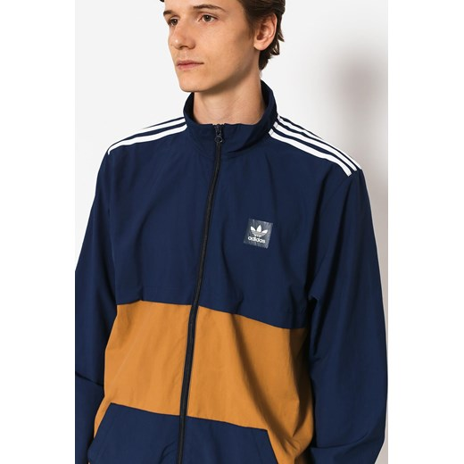 Kurtka adidas Class Action (collegiate navy/raw desert/white)  Adidas L okazja SUPERSKLEP