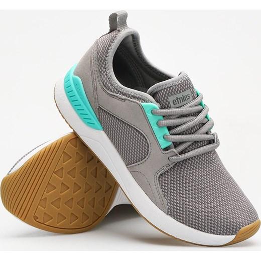 Buty sportowe damskie Etnies dla biegaczy bez wzorów płaskie zamszowe