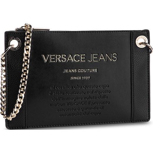 98f1f60fe0b46 Kopertówka czarna Versace Jeans bez dodatków elegancka w Domodi